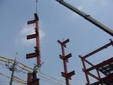 柱吊り上げ