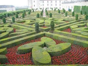 マルタ十字の庭園