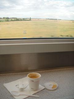 TGVのビュッフェ