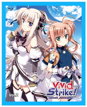 『ViVid Strike!』BD/DVD第2巻のパッケージ&OVA情報公開!