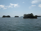 美しい松島湾の島々