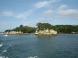 寒風沢島の遠景