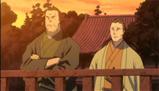 愛宕神社を参拝する勝と西郷(第8話)