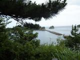 砲台場跡地からの眺め