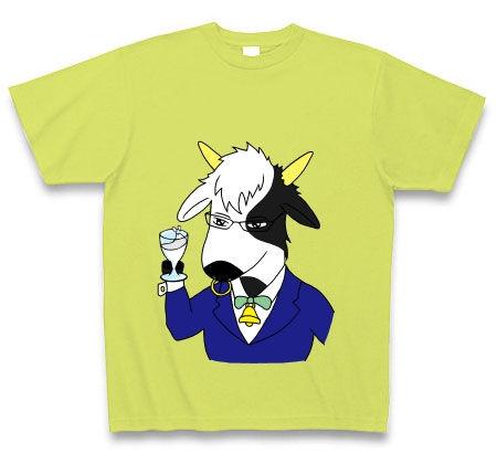 ソムリエ牛Tシャツ