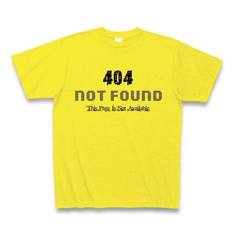 404 NOT FOUND Tシャツ