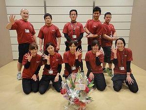 IRONMAN BLOG:ゴールドジム御殿場静岡5周年記念パーティー