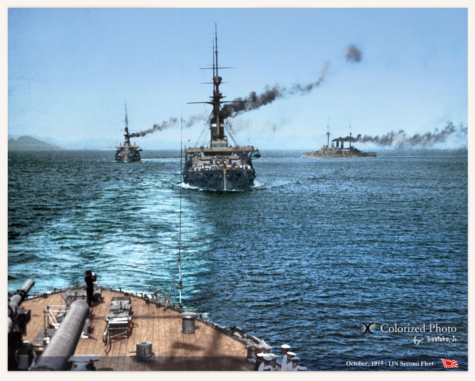 第2艦隊 The second fleet,Oct.1...