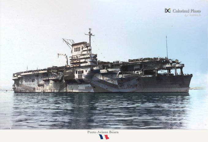 porte-avions Béarn_b2