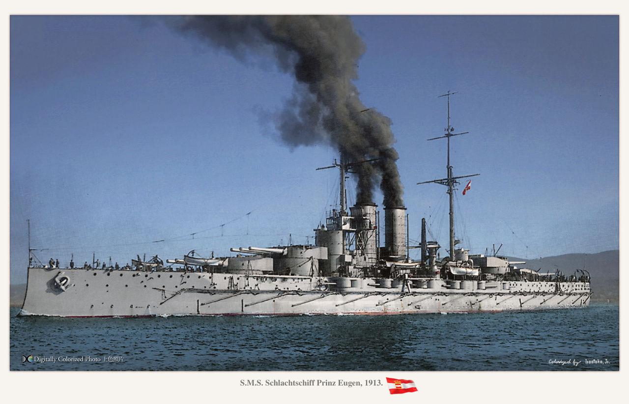 MONOCHROME SPECTER       SMS Prinz Eugen     コメントトラックバック
