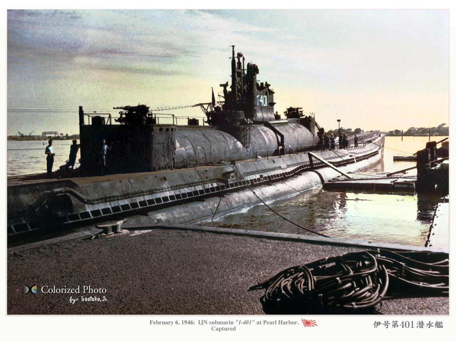 潜水艦『潜特(イ400)型』 I-40...