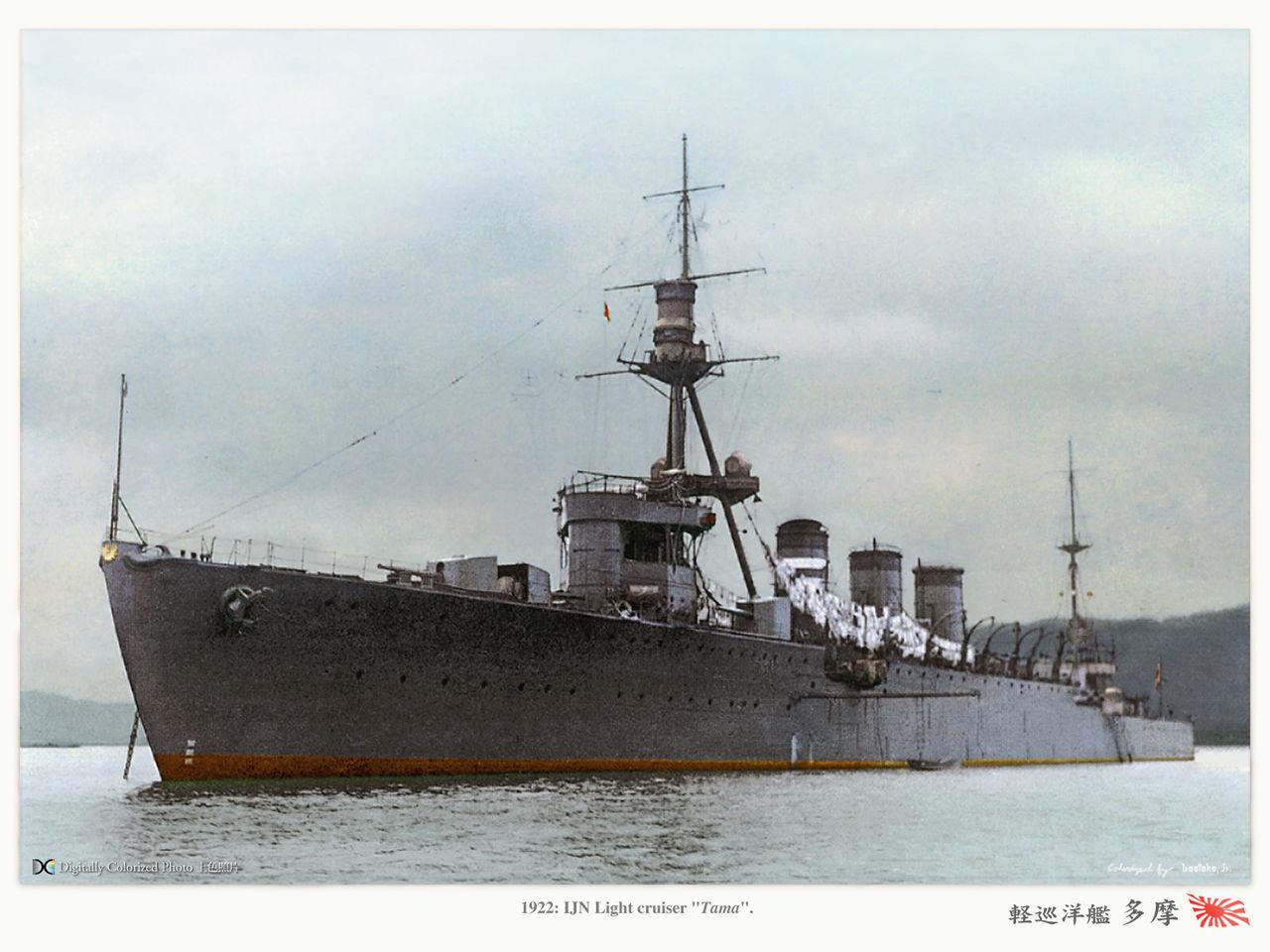 軽巡洋艦『球磨型』 Kuma class ...