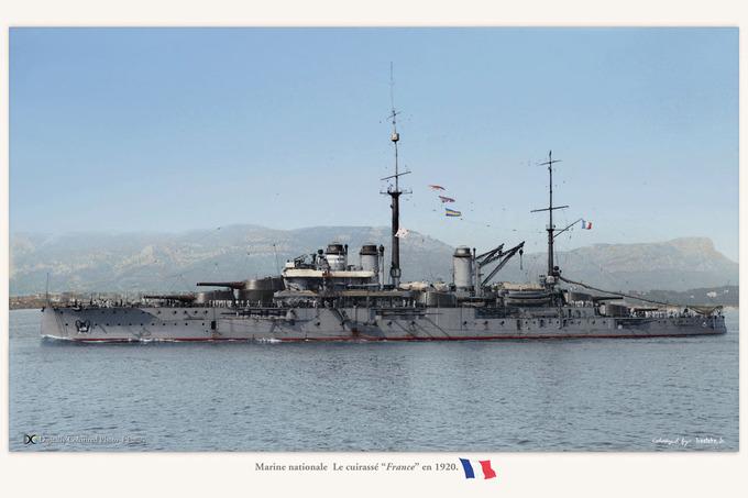 "Marine nationale  La ""France"""