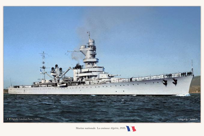 croiseur Algerie 1935