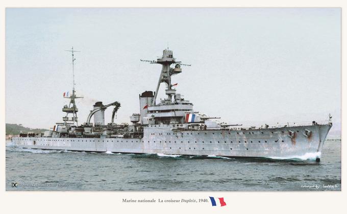 croiseur Dupleix 1940