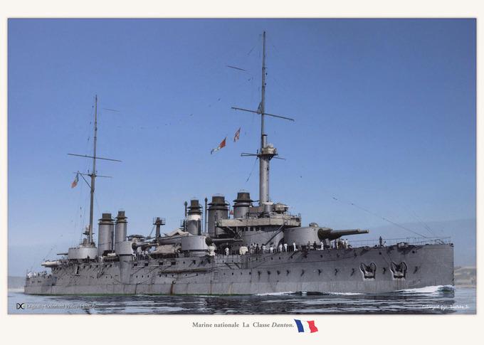 "Marine nationale  La ""Danton classe"""