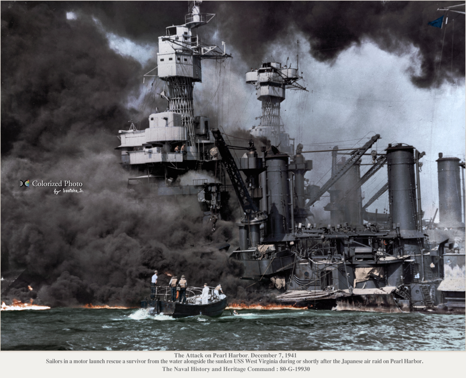 a history of the attack on pearl harbor in 1941 With this year being the 70th anniversary of the pearl harbor attack, we thought it would be important to visit with survivors, many of whom are in their 90shistory now lends weight to that day.