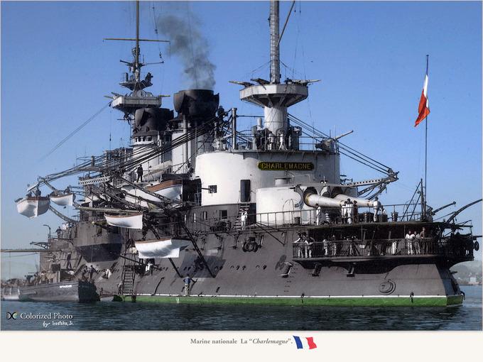 "Marine nationale  La ""Charlemagne""5"