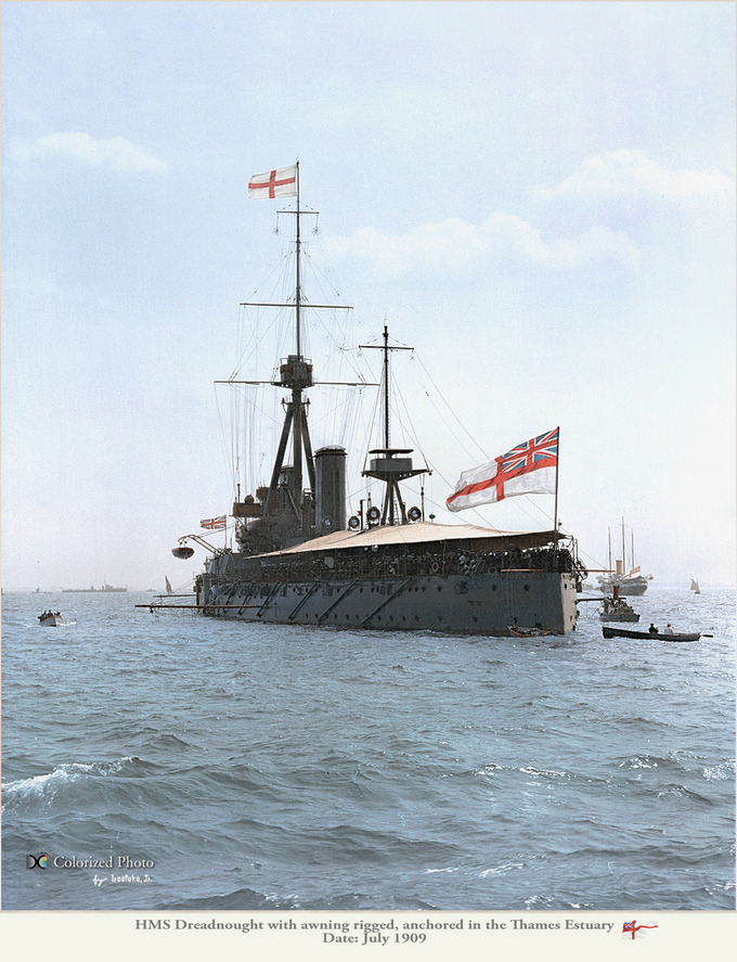 HMS Dreadnought 1909_11