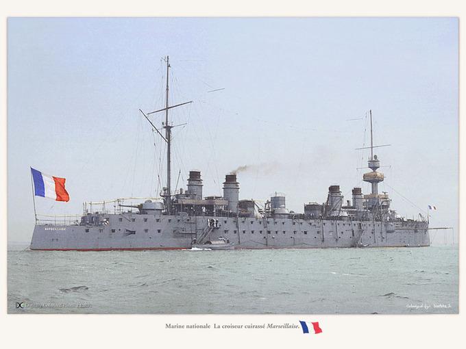 croiseur cuirasse Marseillaise