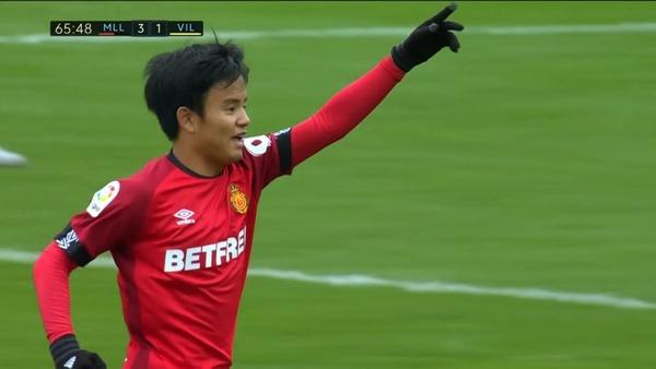 「輝いている」「連れ戻すべき」久保建英が全3ゴールに絡み、スペインでの初ゴールを決める