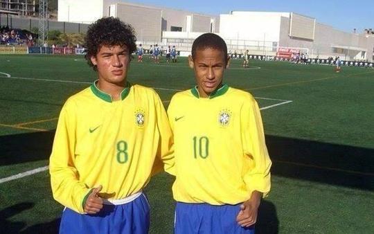 Philippe-Coutinho-Neymar-Brazil