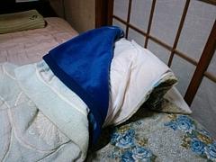 地震@福島市 このくらいの布団で寝る