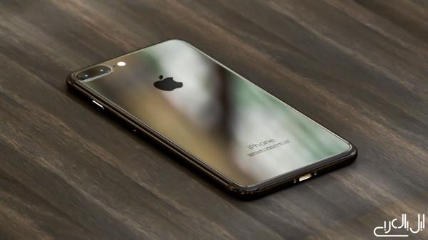 iPhone 7 Piano Black Rendering