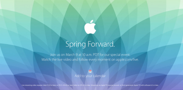 Apple Special Event 20150309