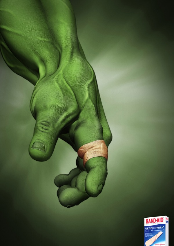 Hulk and Band-Aid