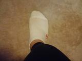 靴下1枚目