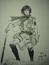 遠藤先生が描くミカサ600