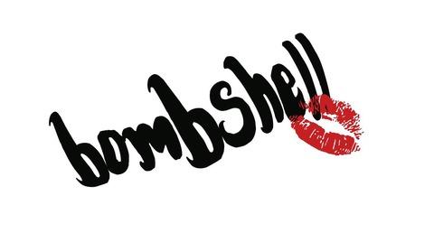 bombshell kiss logo