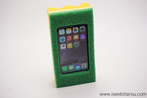 スポンジiPhoneケース8