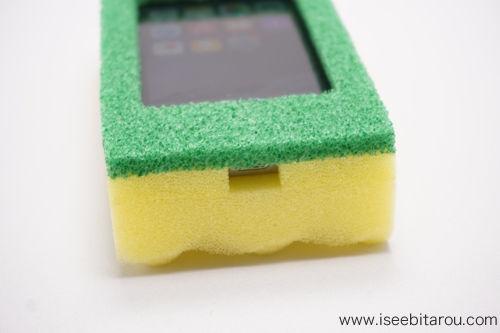 スポンジiPhoneケース2
