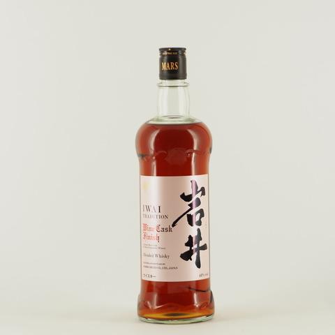 【ウイスキー】岩井TRADITION「ワインカスクフィニッシュ」入荷!
