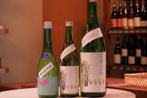日本酒「庭のうぐいす」「篠峯」入荷! #日本酒 #庭のうぐいす #篠峯