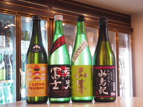 日本酒「水鳥記」「山本」「榮光冨士」  ブログ冒頭の小ネタ復活!