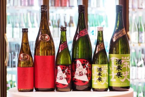 日本酒「春霞」「榮光冨士」入荷。 #日本酒 #春霞 #森のくまさん