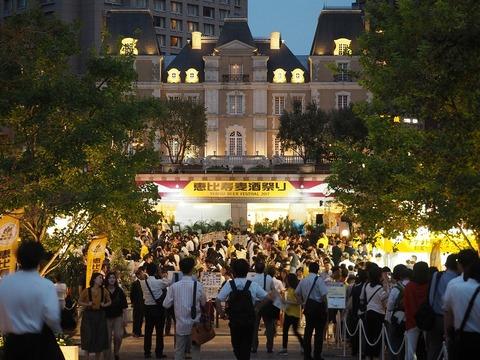 本日は11:30からオープン。恵比寿麦酒祭りに行ってきました! #ビール