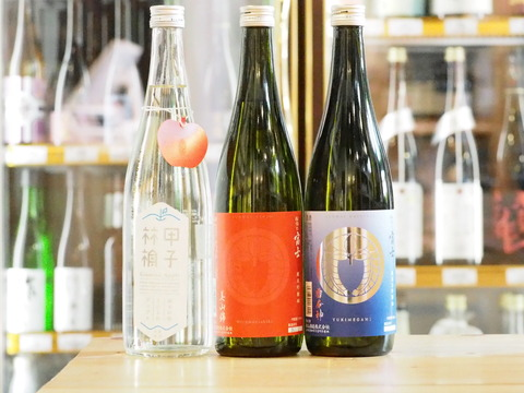 【日本酒】「松嶺の富士」「きのえねアップル」が入荷いたしました!
