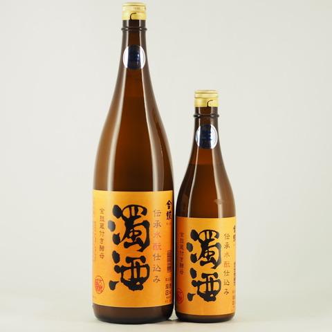 【日本酒】「金鼓 水もと仕込み 濁酒 生酒」入荷致しました!