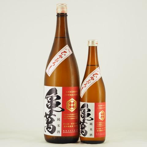 【日本酒】 秋酒「亀萬 純米酒 ひやおろし」入荷致しました!