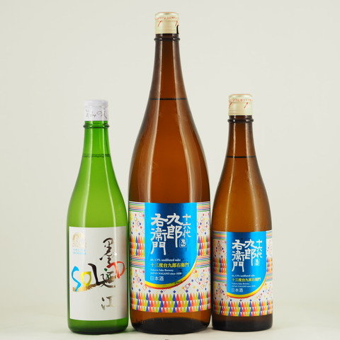 日本酒「墨廼江」「十六代九郎右衛門」入荷しました!
