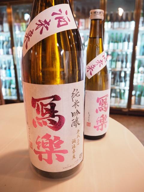 日本酒「冩樂」「東洋美人」明日8/12販売開始!