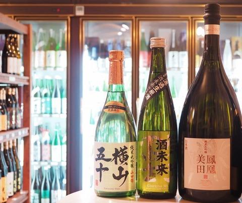 4,000円台のハイレゾ対応イヤフォン「碧(SORA)」 『鳳凰美田』『横山五十』『榮光冨士』入荷しました! #日本酒 #sake