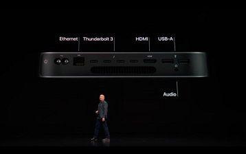 Mac mini ブレードサーバー発表、SSD2TB、メモリ64GB、10GbE、799ドル~