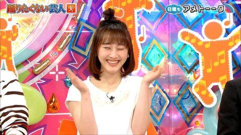 【画像】アメトーーク「踊りたくない芸人」の松井玲奈の髪形が変だと話題wwwwwサザエさんヘアがこちらwwww