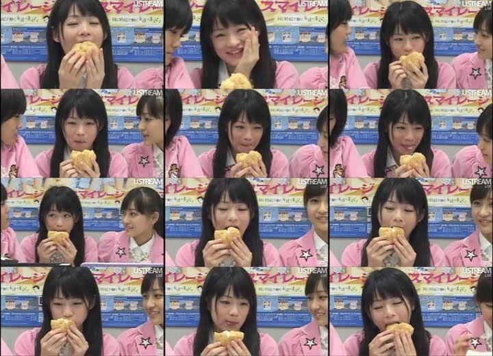 アイドルが美味しそうに飯くってる画像wwwwwwww