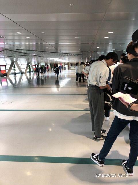 【乃木坂46】現在の「握手@東京ビッグサイト」がこちら・・・